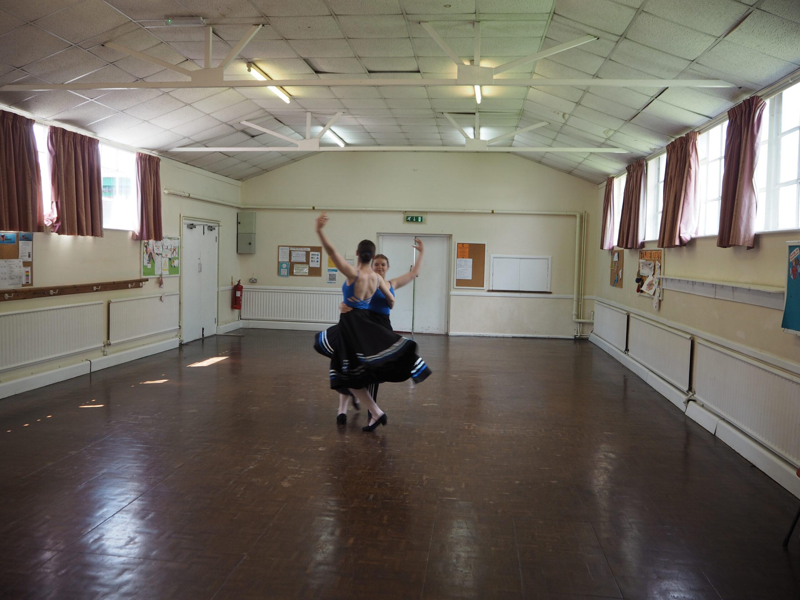 grade 6 character dance